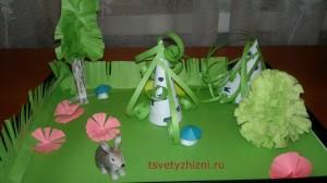 Лесные поделки для детей