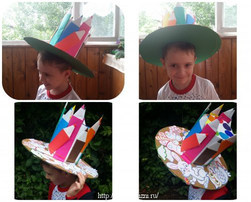 Шляпа для мальчика для детского конкурса
