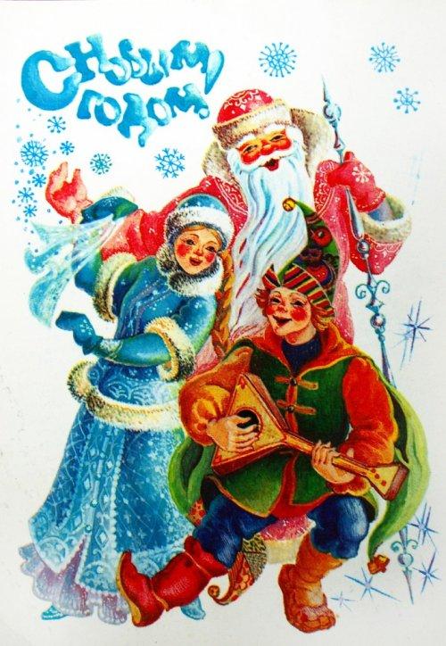 Длинное новогоднее стихотворение классика