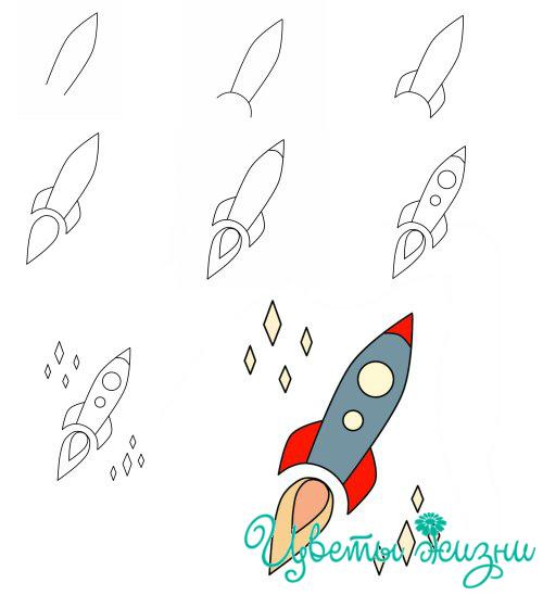 kak_narisovat_raketu