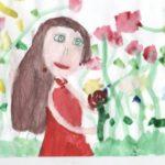 5. Камалитова Эмилия, 8 лет «Мамины добрейшие глаза!»